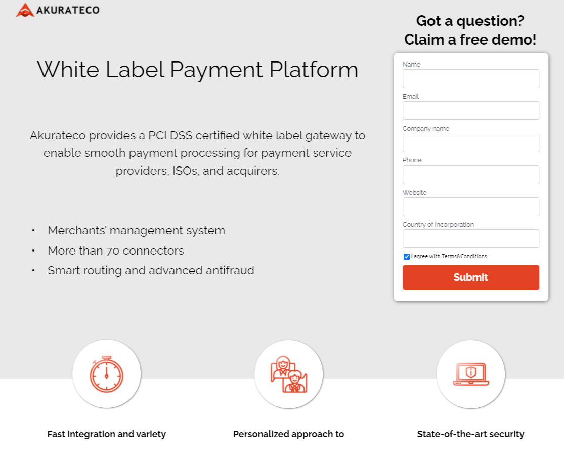Akurateco as the best payment processing software for online businesses